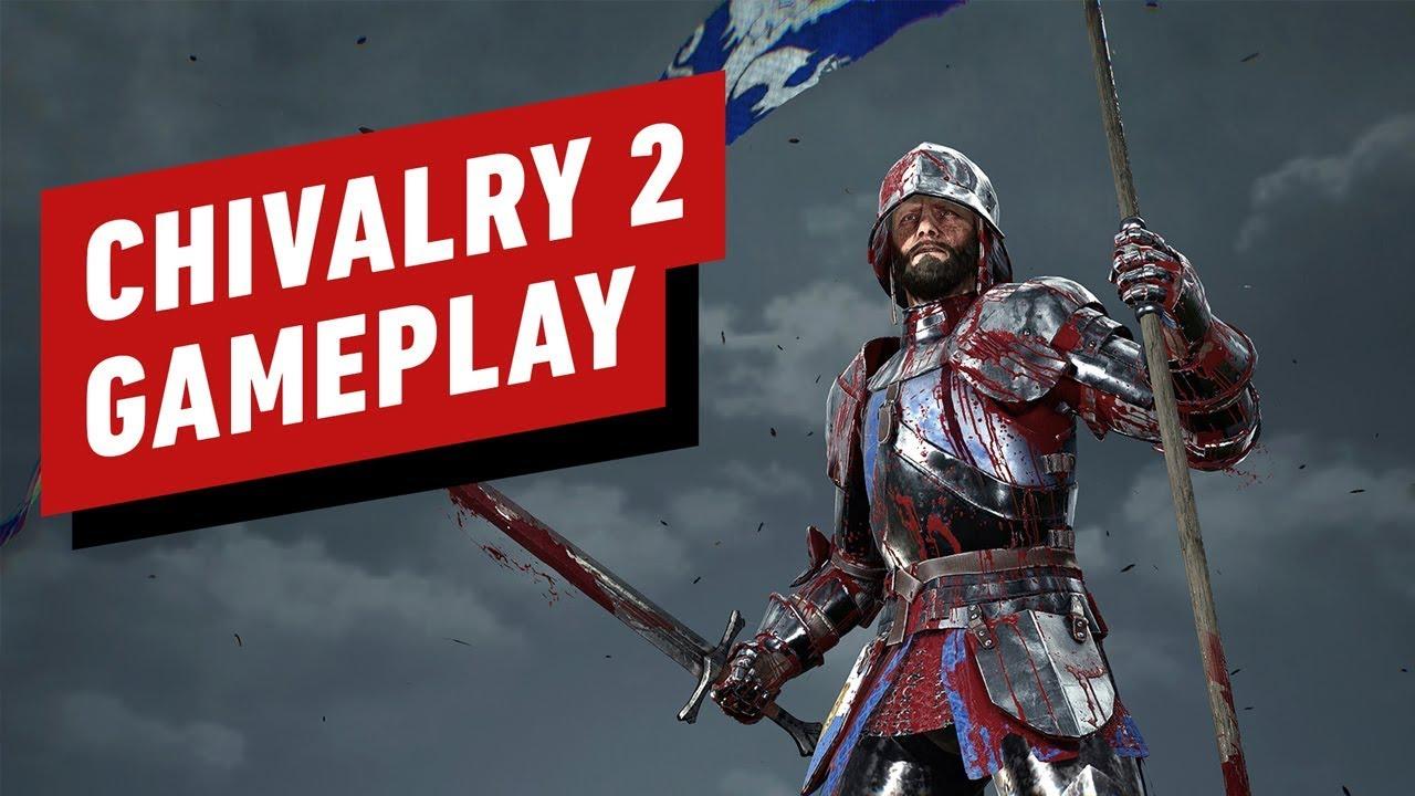Свежее геймплейное видео Chivalry 2 с жестокими добиваниями и криками разгневанных мужчин