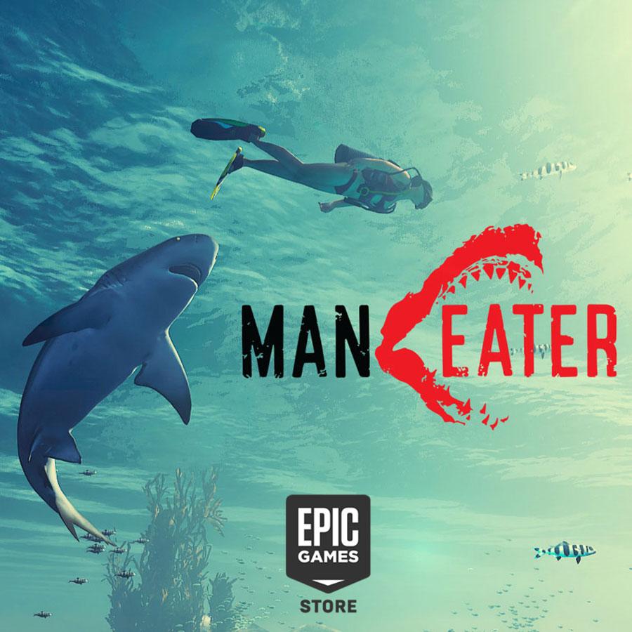 Игра про акулу-людоеда Maneater станет временным эксклюзивом Epic Games Store