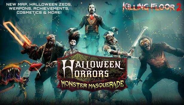 Вышло крупное обновление Halloween Horrors: Monster Masquerade для Killing Floor 2