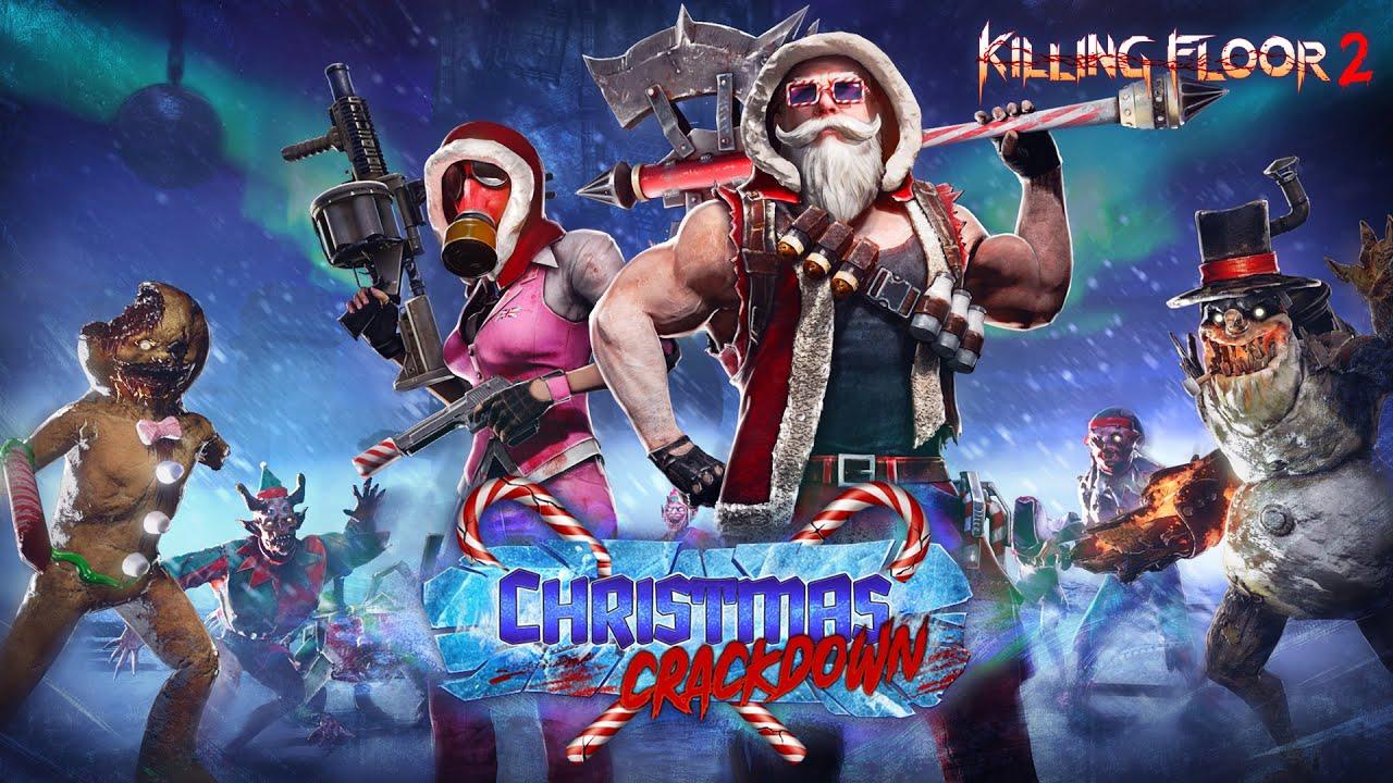 Killing Floor 2: новое обновление «Christmas Crackdown» возвращает праздничных монстров и новую карту