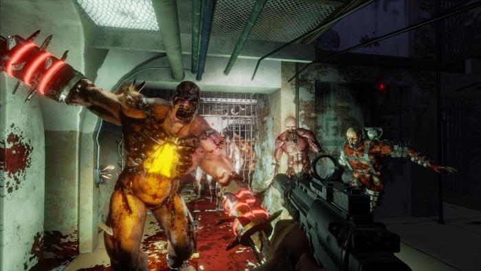 Геймплей Killing Floor 2 в разрешении 4K на PS4 Pro